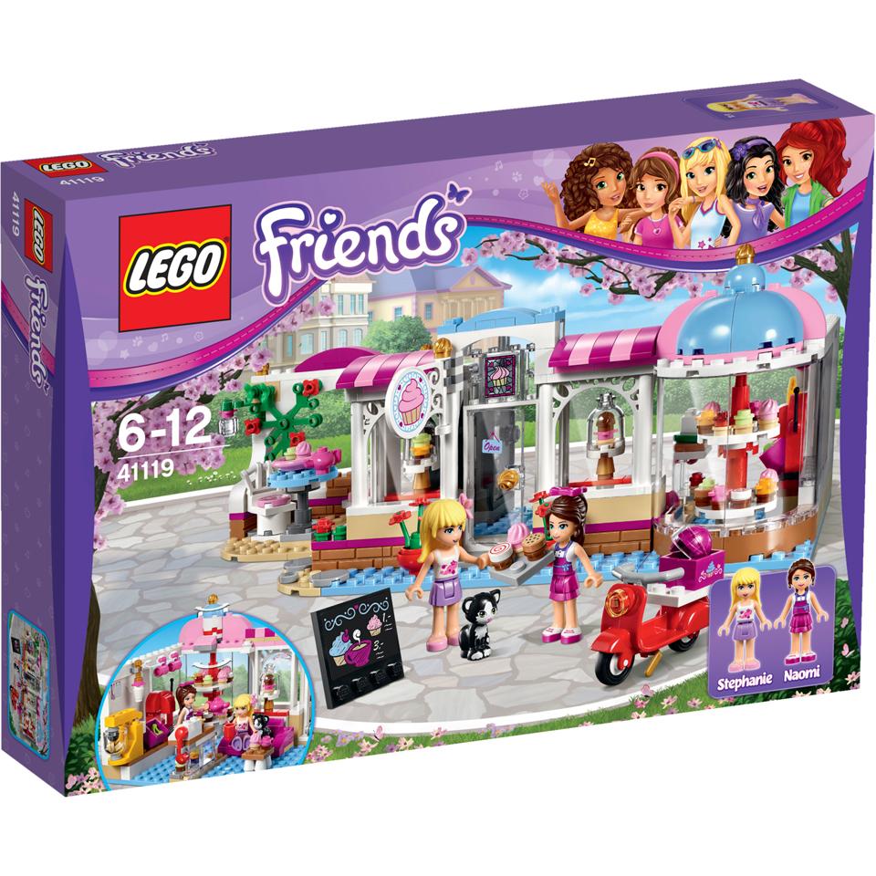 Lego Friends Heartlake Cupcake Caf 233 41119 Iwoot