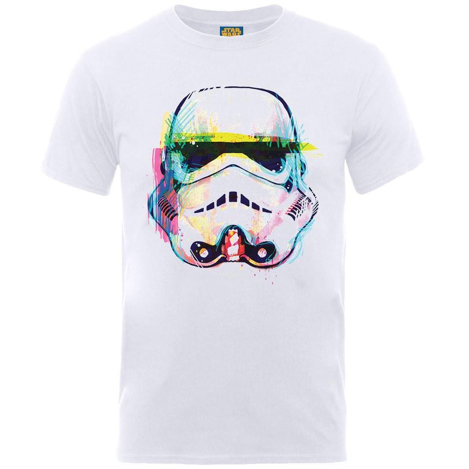 Star Wars Men\'s Command Stormtrooper Art T-Shirt - White Merchandise ...