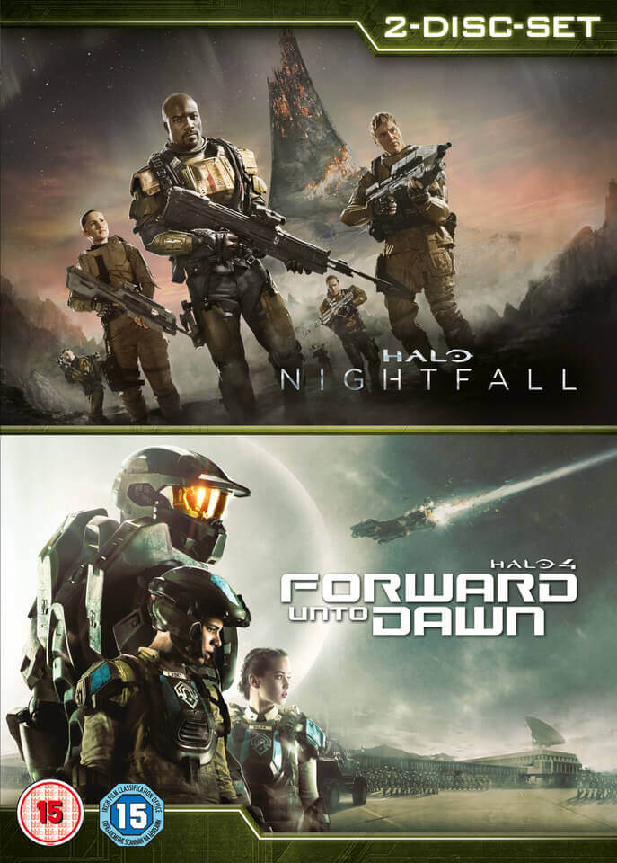 Halo 4 Forward Unto Dawn Halo Nightfall Double Pack Dvd Zavvi Uk