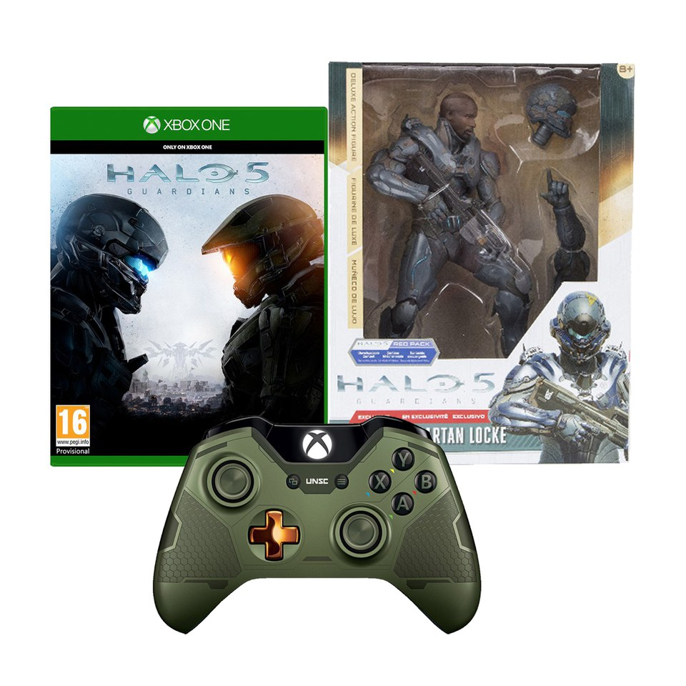 Halo 5 Guardians Limited Edition Halo 5 Guardians The Master Chief Wireless Controller Halo 5 Spartan Locke 10 Inch