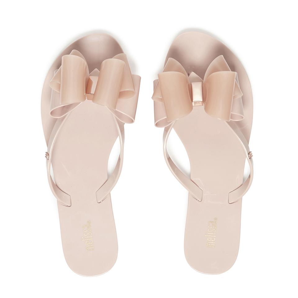 f87f5b833 Melissa Women s Harmonic Twin Bow Flip Flops - Blush Womens Accessories