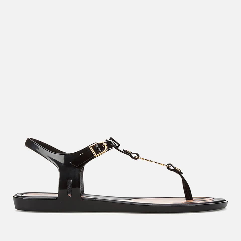 1ffcf6373ab76f Vivienne Westwood for Melissa Women s Solar Sandals - Black Orb ...
