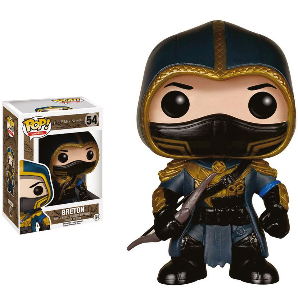 The Elder Scrolls vs. Skyrim Breton Pop! Vinyl Figure