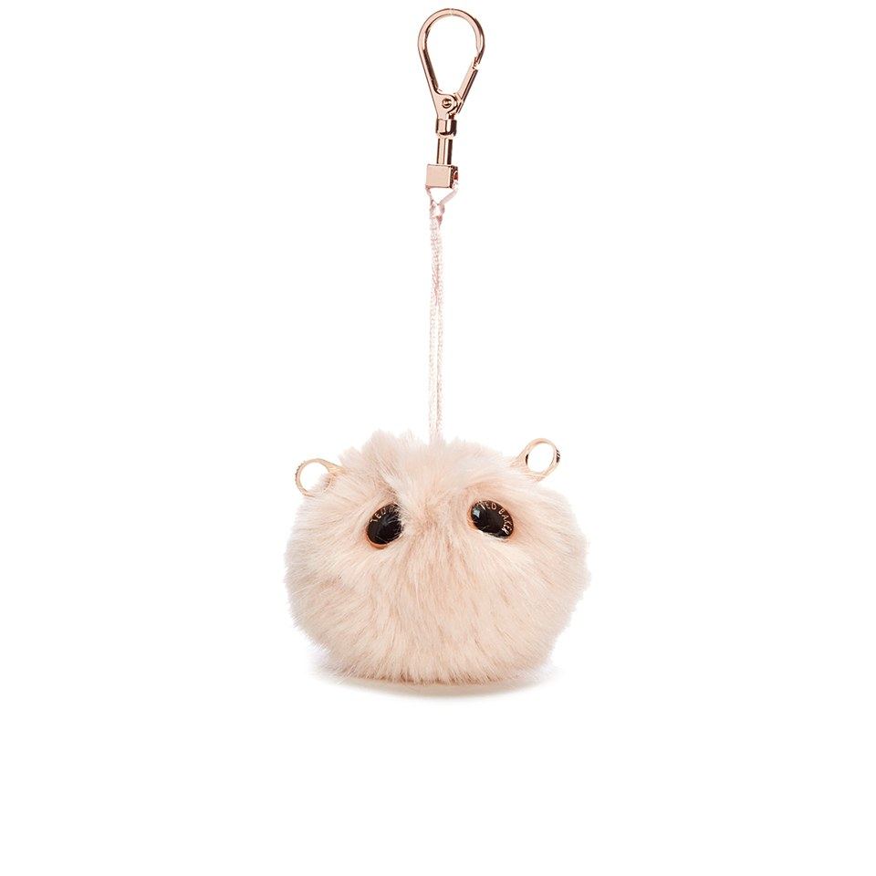fbe9114c4a21 Ted Baker Women s Lolaa Fluffy Character Bag Charm - Nude Pink