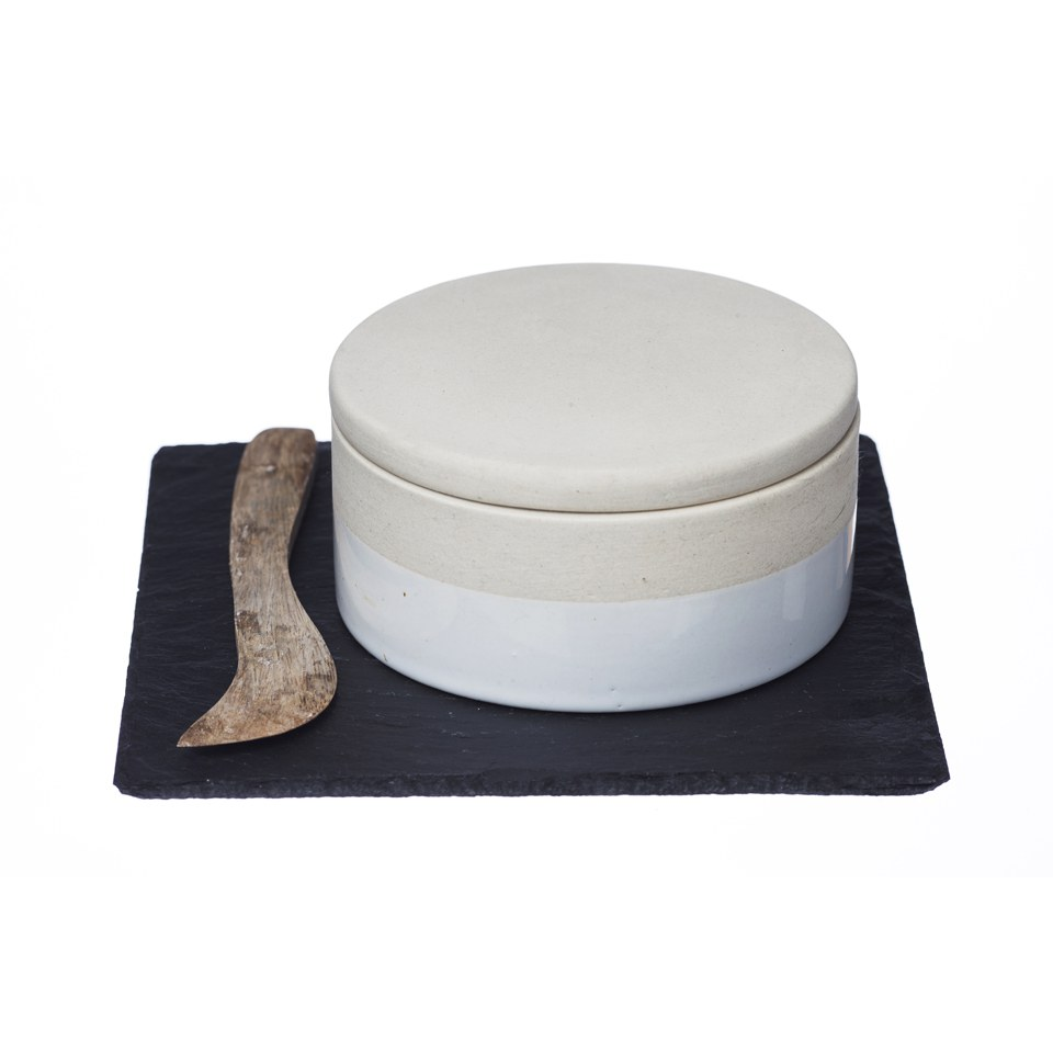 Just Slate Stoneware Gourmet Cheese Baker