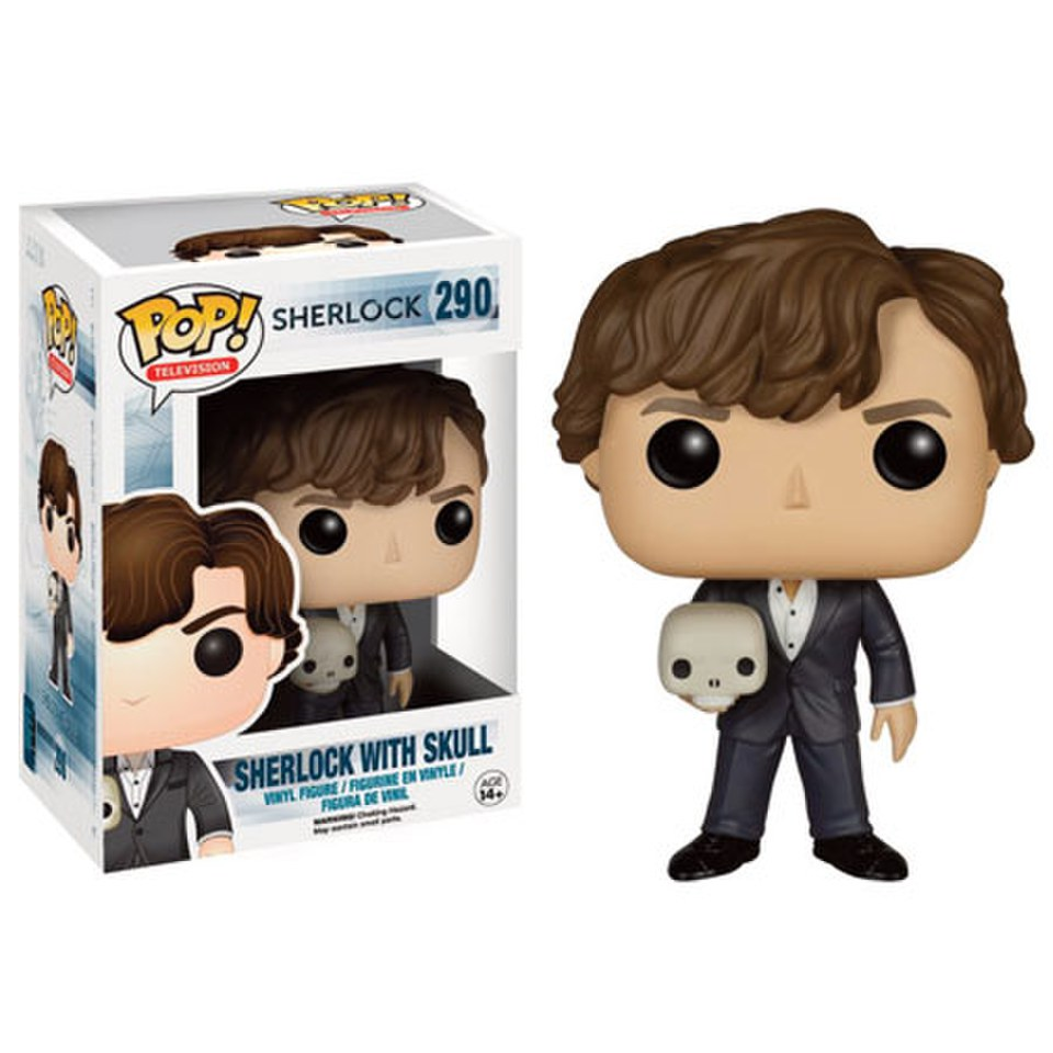 Sherlock With Skull Limited Edition Pop! Vinyl Figure
