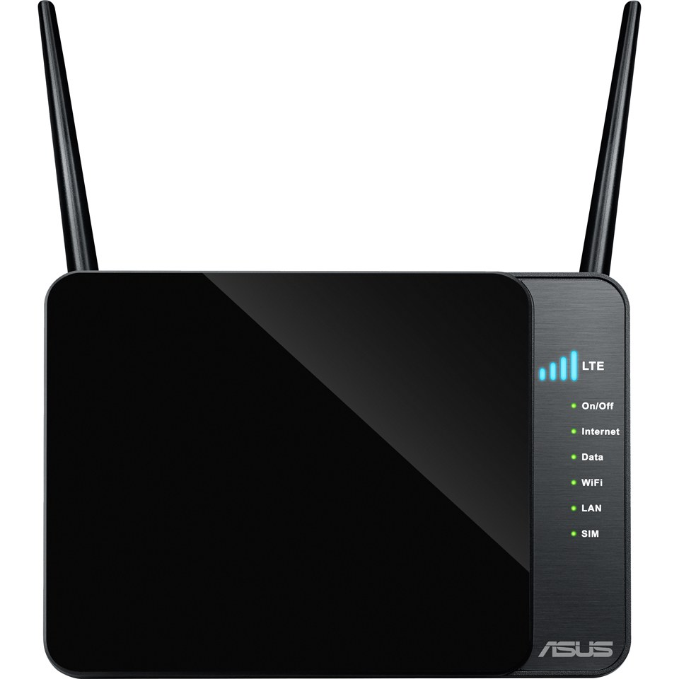 ASUS 4G-N12 N300 LTE Modem Router, 3G/4G Support Computing ...