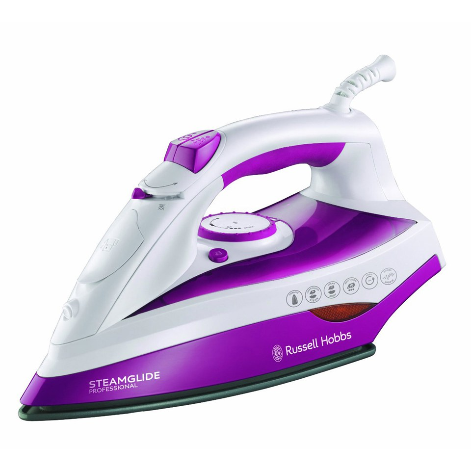 russell hobbs 19220 steamglide professional steam iron. Black Bedroom Furniture Sets. Home Design Ideas