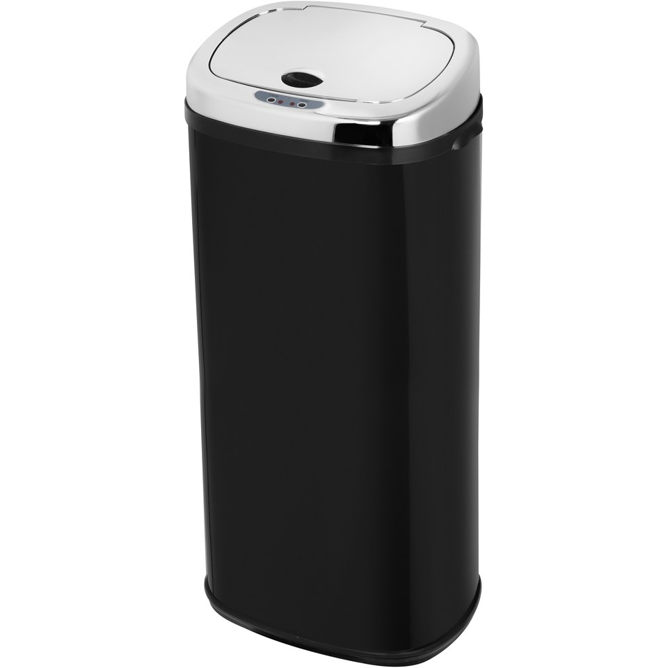 Morphy Richards 971517/MO 50L Square Sensor Bin - Black
