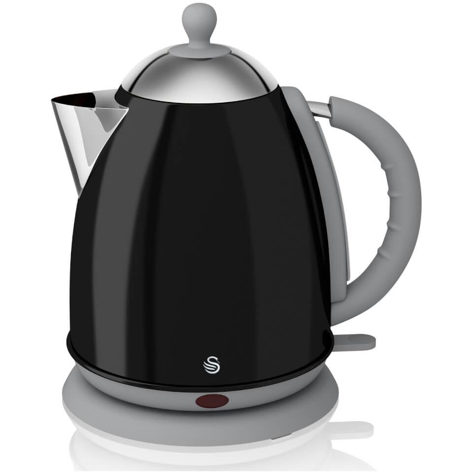 Kettle Hk Electric D184t ~ Swan sk bn litre jug kettle black iwoot