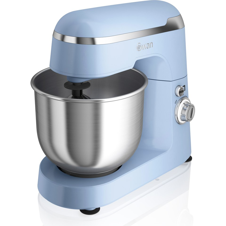 Swan SP25010BLN Retro Stand Mixer - Blue