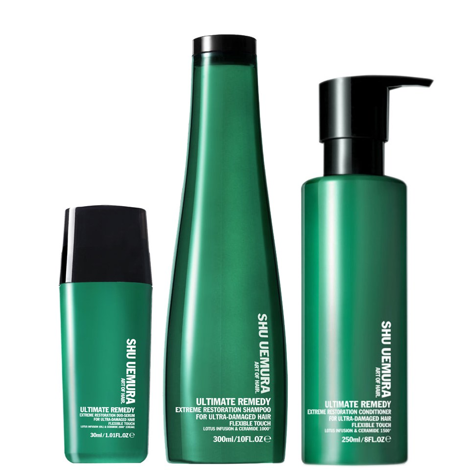 Shu Uemura Art Of Hair Ultimate Remedy Shampoo 300ml Conditioner