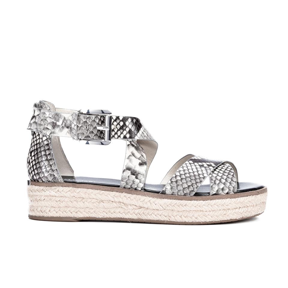 365a603b788 ... MICHAEL MICHAEL KORS Women s Darby Embossed Printed Snake Espadrille Flatform  Sandals - Natural
