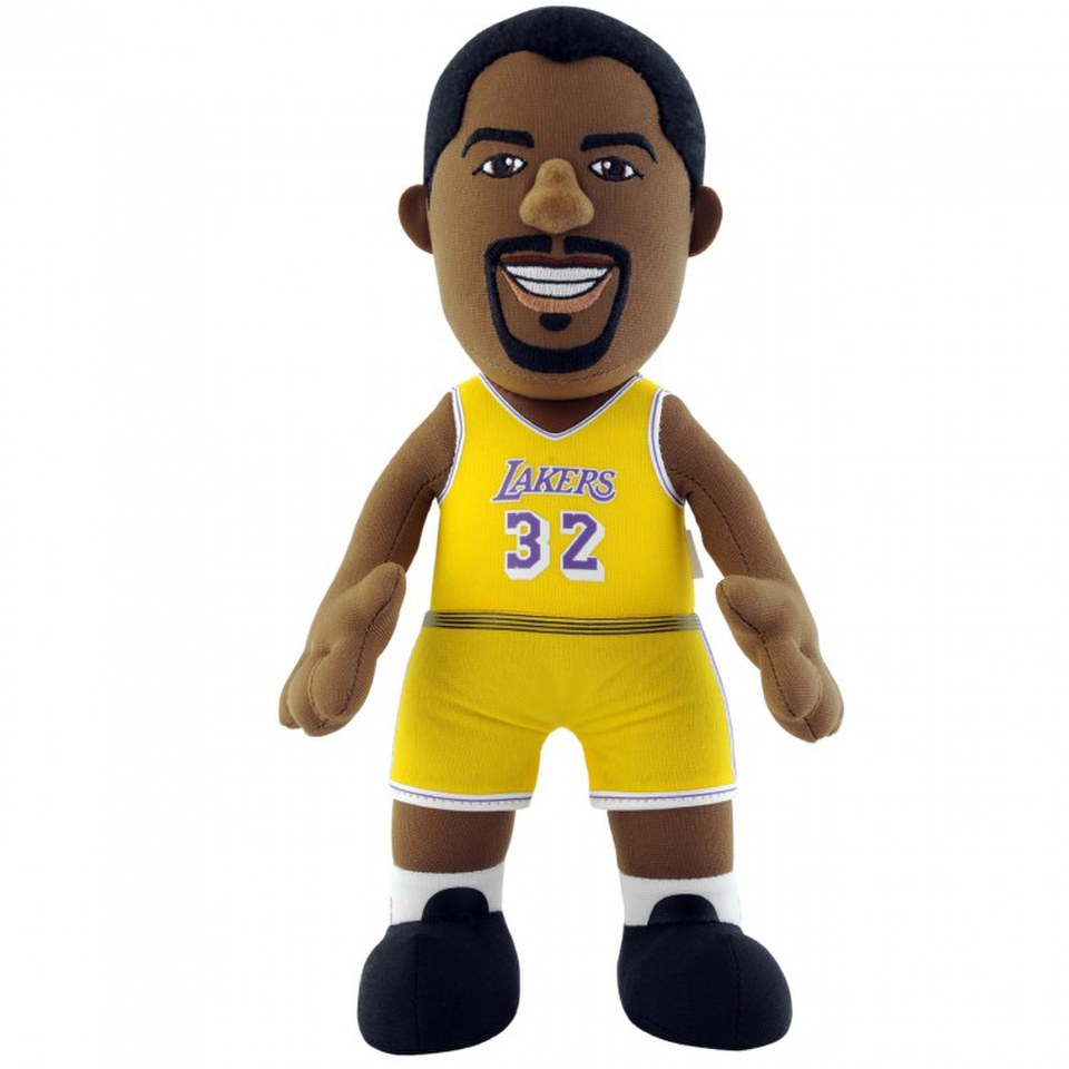 LA Lakers Magic Johnson 10 Inch Bleacher Creature