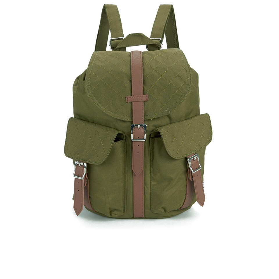 3646fe9f9c9 Dawson Quilted Backpack - Army Herschel Supply Co. Dawson Quilted Backpack  - Army