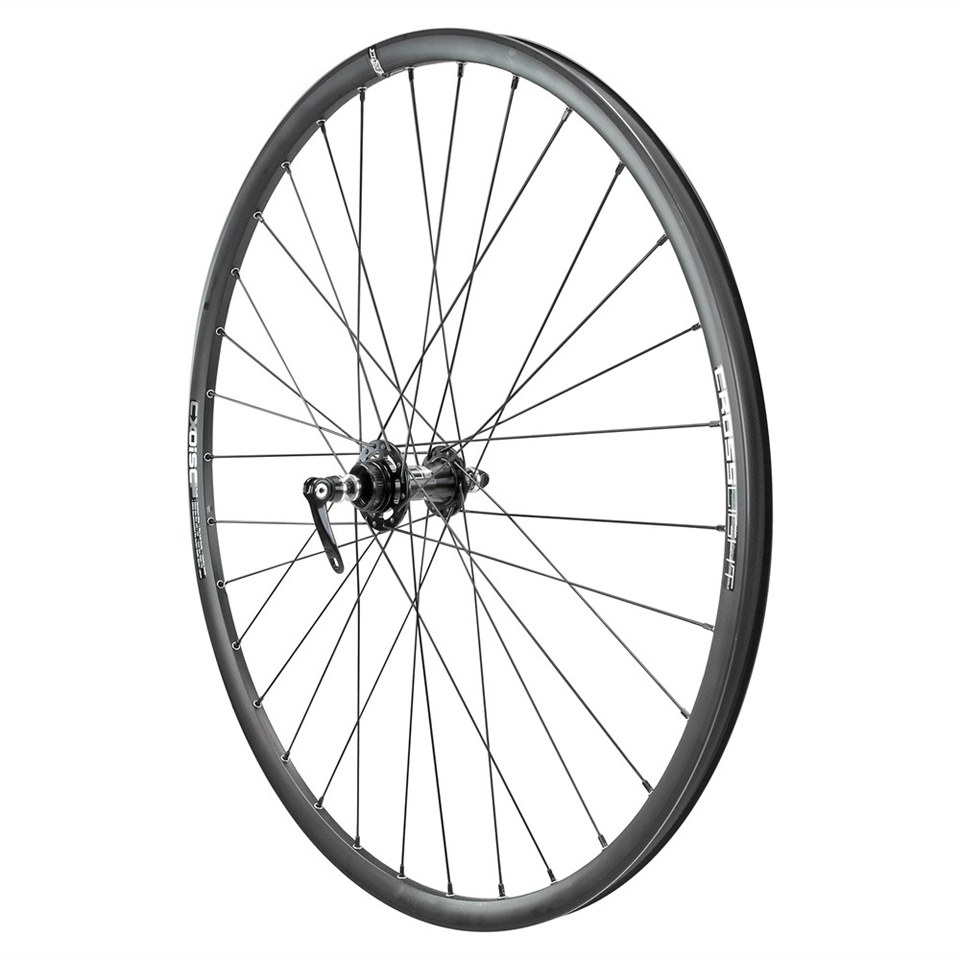 Kinesis Crosslight CX Disc HD Clincher Wheelset - Black - Shimano