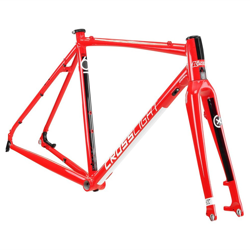 Kinesis Crosslight Pro6 V2 Frameset - Gloss Red