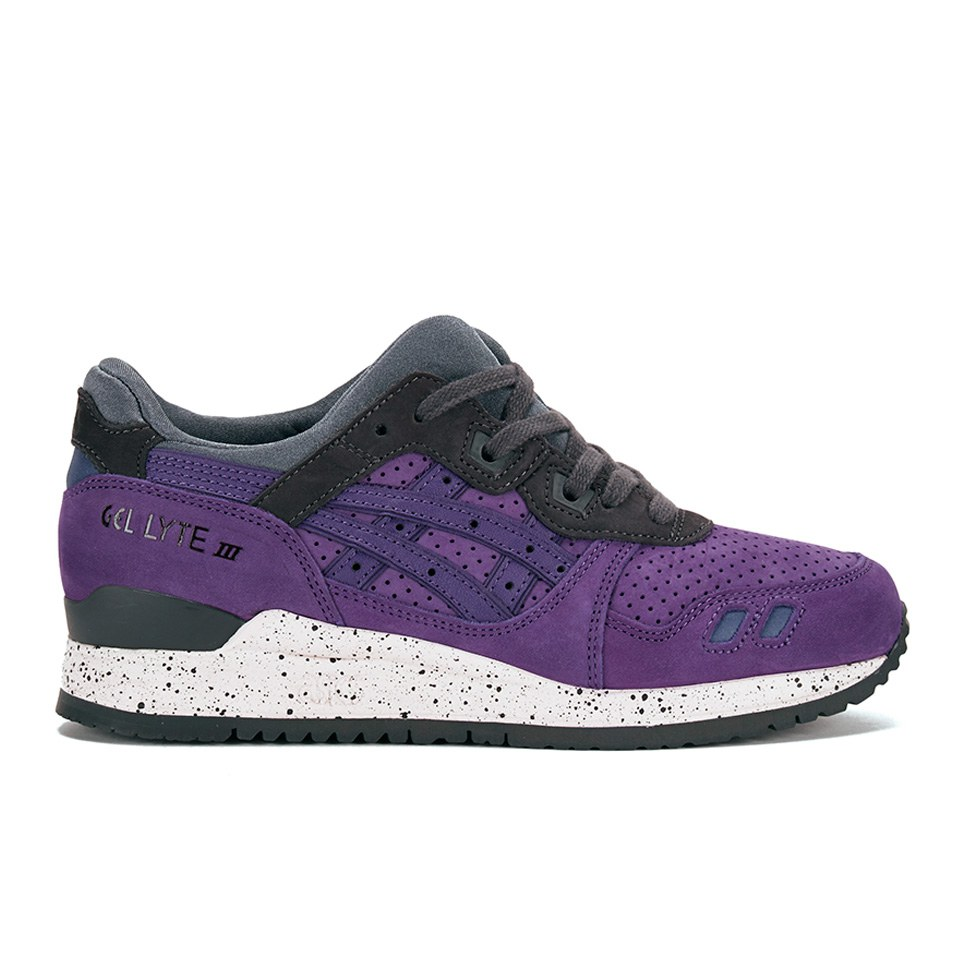 asics gel lyte iii purple yellow bedding