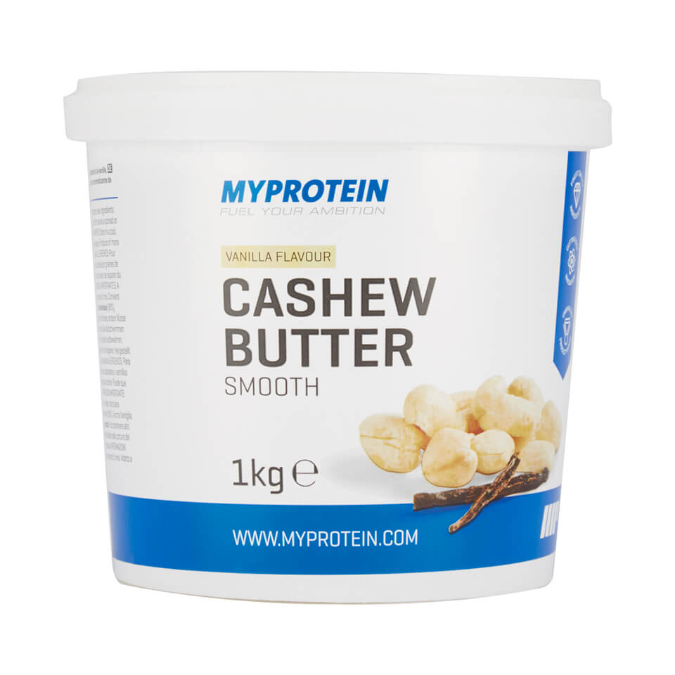 Natural Cashew Butter, Vanilla, Smooth, Tub, 1kg
