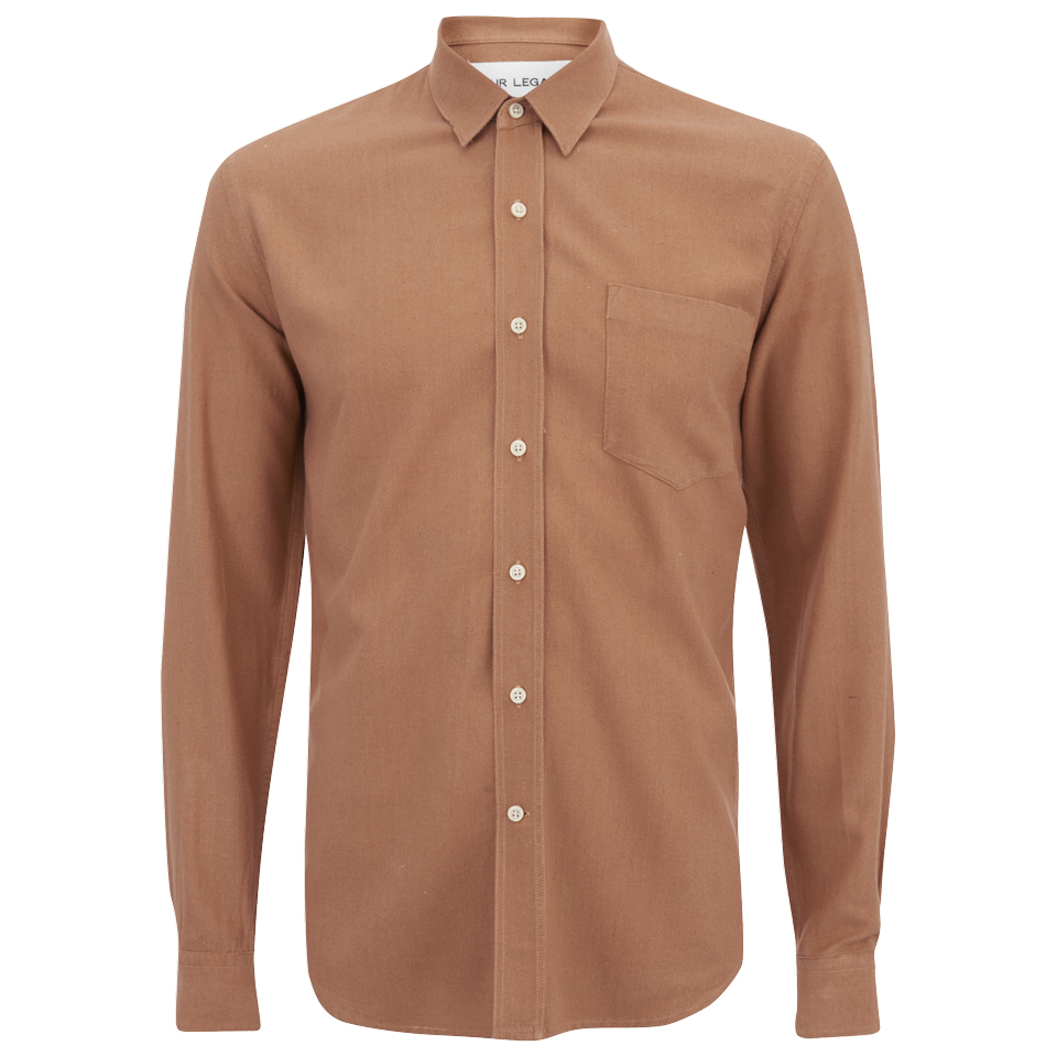Our legacy men 39 s classic long sleeve shirt pink silk for Mens pink long sleeve shirt