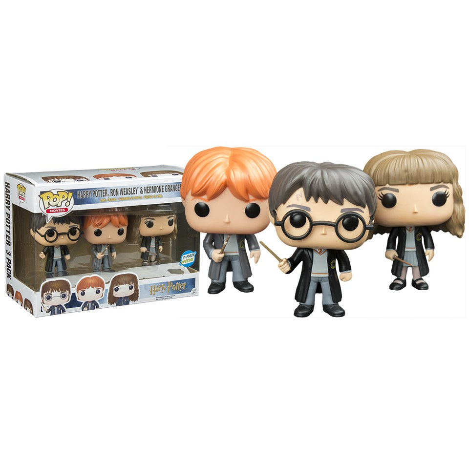 Harry Potter Limited Edition Pop! Vinyl Figure 3-Pack