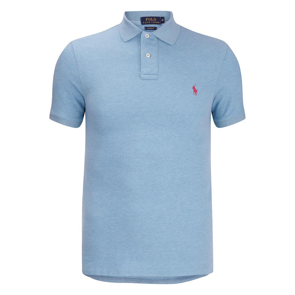 Polo Ralph Lauren Mens Short Sleeve Custom Fit Polo Shirt French