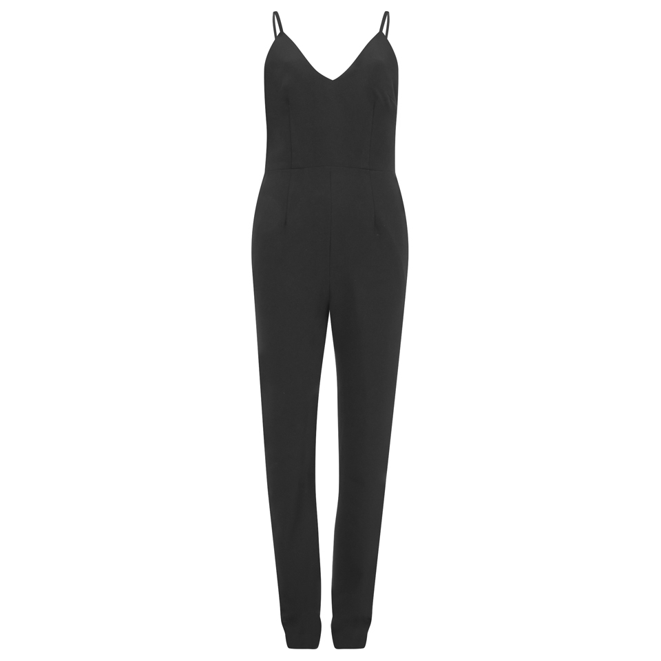 17c45cfb9f Finders Keepers Women s Stand Still Jumpsuit - Black - Free UK ...
