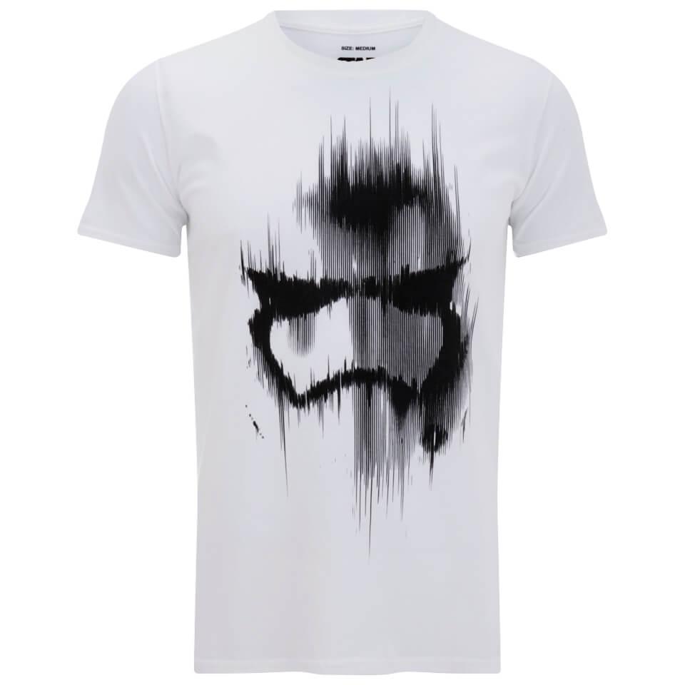 Star Wars Men\'s Stormtrooper Mask T-Shirt - White | IWOOT