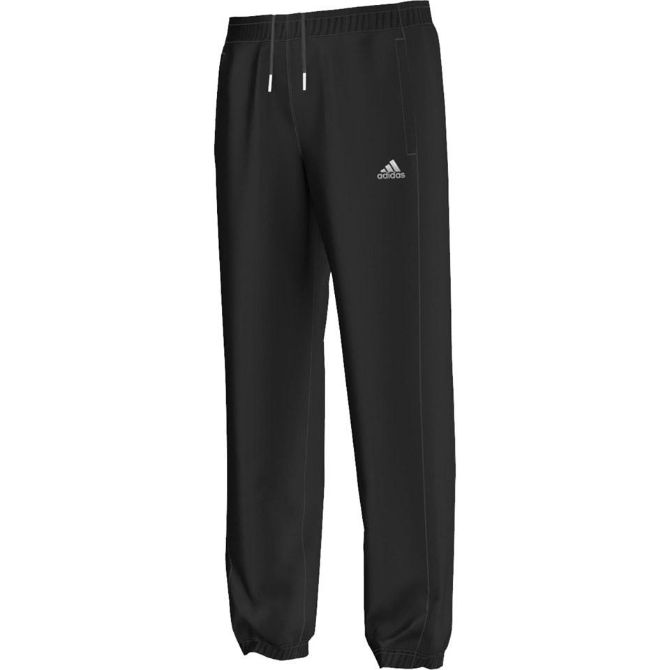b80a1c58 adidas Men's Sport Essential Track Pants - Black/White. Description