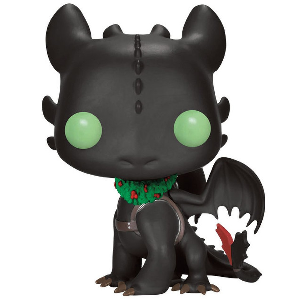 Hot To Train Your Dragon Holiday Toothless Limited Edition