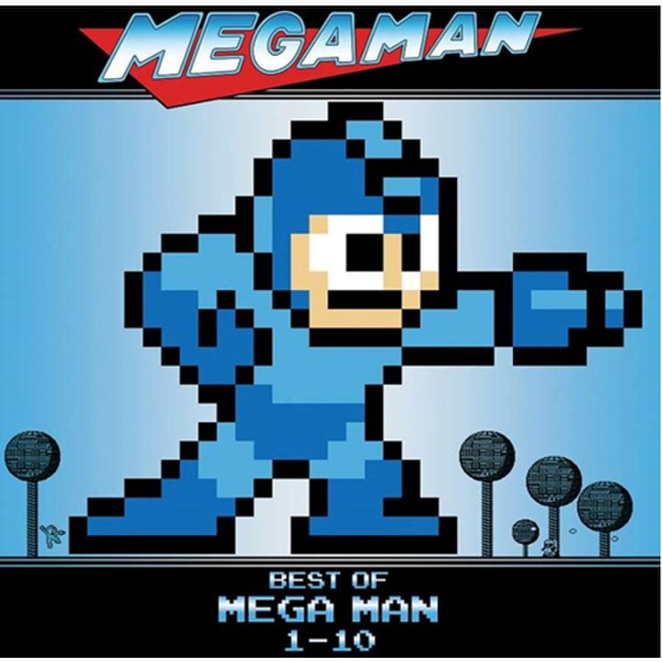 Mega Man 1-10 - The Original Soundtrack OST (1LP) - Limited Edition 'Skull  Man' Coloured Vinyl