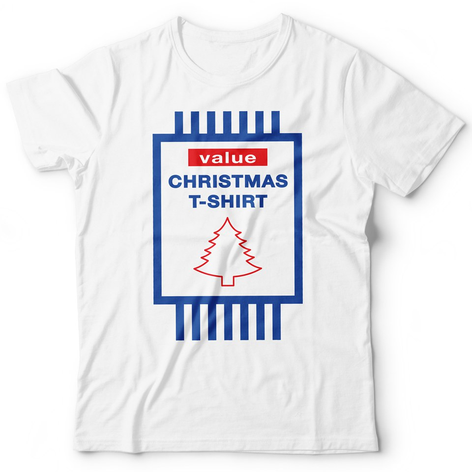 Value Christmas T-Shirt - White