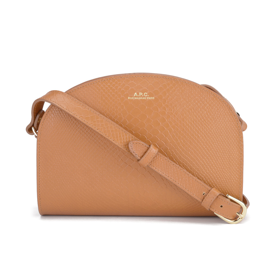 f981bee563e A.P.C. Women's Half Moon Bag - Caramel - Free UK Delivery over £50