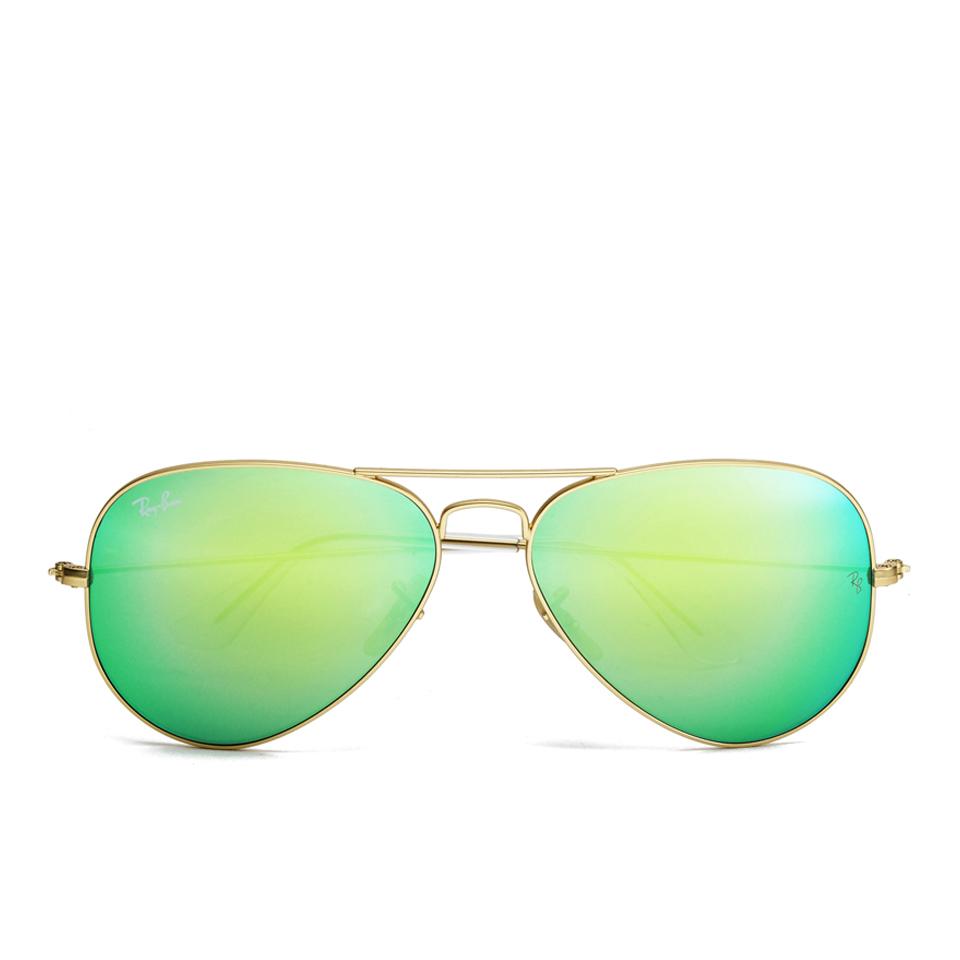 766dcb5f6 Ray-Ban Aviator Large Metal Sunglasses - Mirror Multi Blue