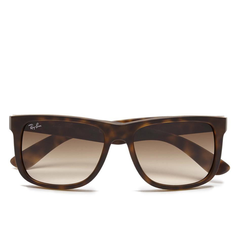 1515d223b8b4 Ray-Ban Justin Rubber Sunglasses - Light Havana Womens Accessories ...