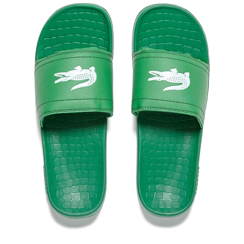 1a5f8ee1bb5e Lacoste Men s Frasier Slide Sandals - Green - Free UK Delivery over £50