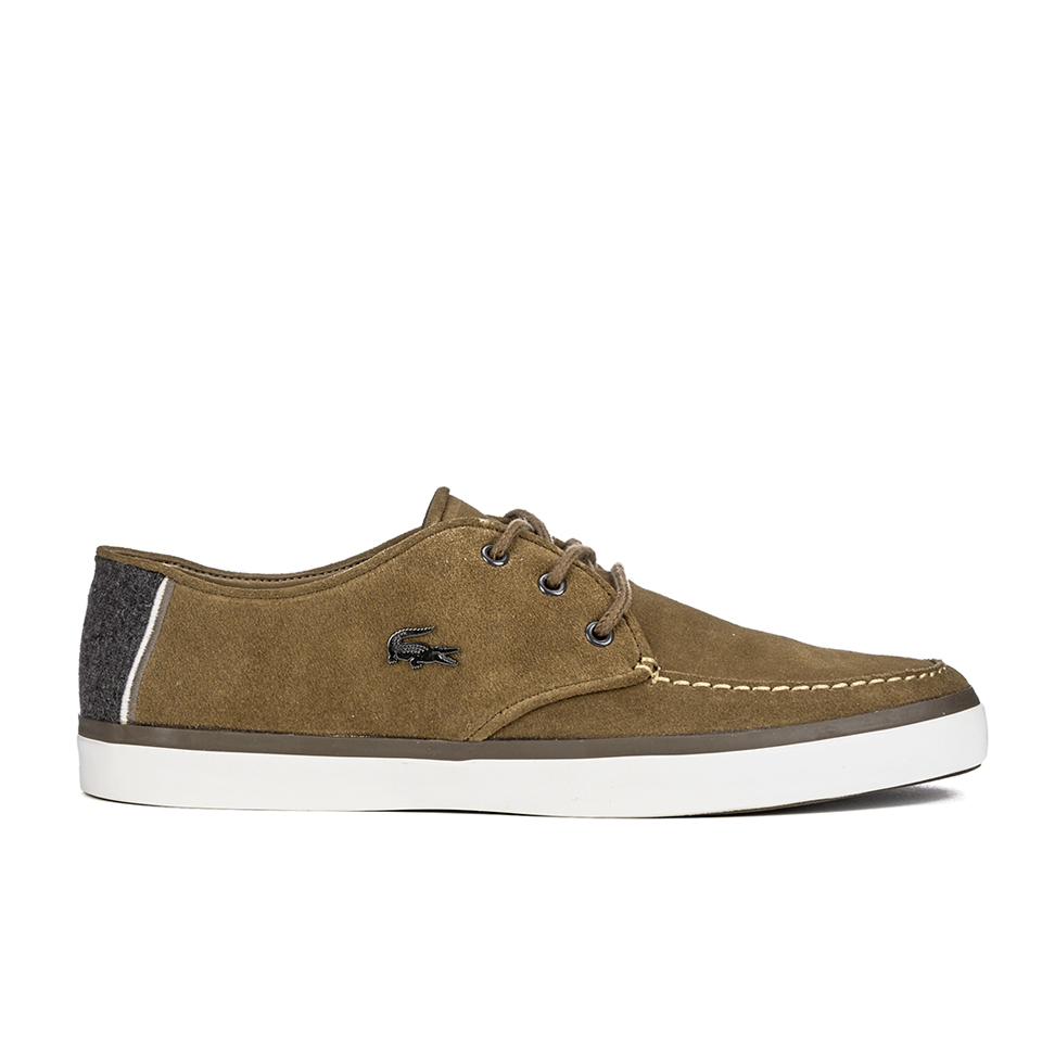 f38986981e30 Lacoste Men s Sevrin 2 LCR Suede Deck Shoes - Tan - Free UK Delivery over  £50