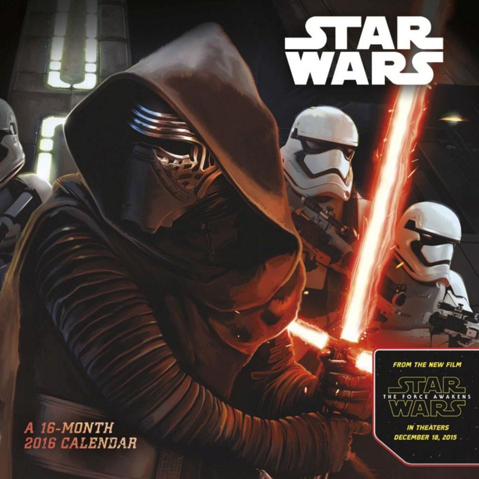Star Wars: The Force Awakens Mini Calendar