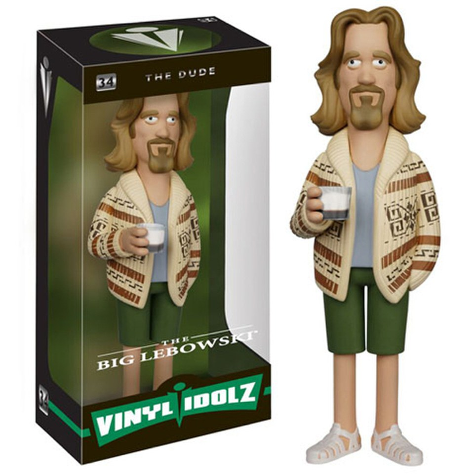 The Big Lebowski Dude Vinyl Sugar Idolz Figure Merchandise