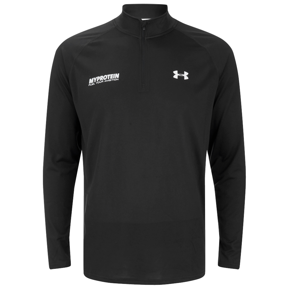 b31b3aa81 Buy Under Armour Mens Tech Long Sleeve 1/4 Zip Top – Black ...