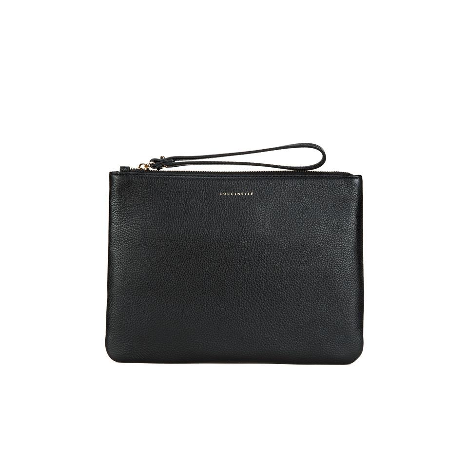 c7e14c3265ad Coccinelle Women's Buste Leather Clutch Bag - Black
