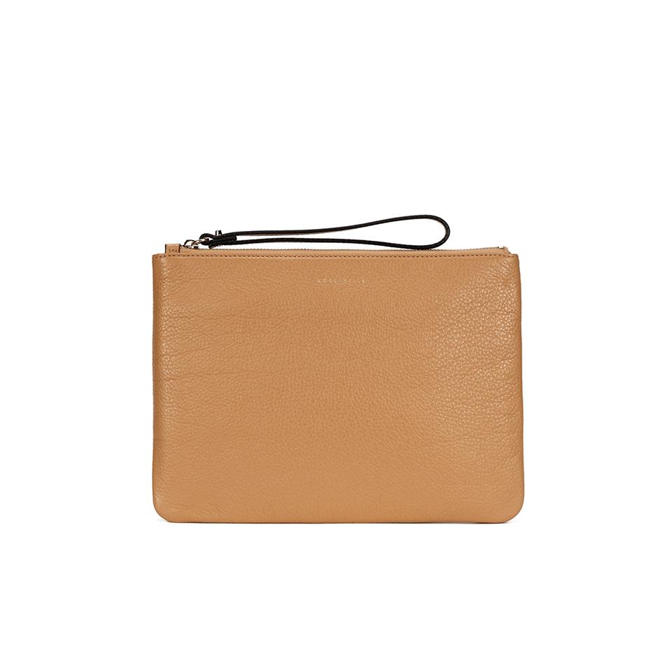 af6bf60ec4 Coccinelle Women's Buste Leather Clutch Bag - Light Tan Womens Accessories  | TheHut.com