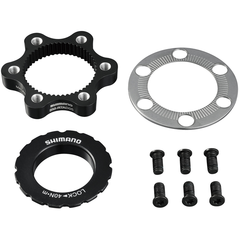 Shimano SM-RTAD05 6-Bolt Rotor to Centre Lock Hub Adapter