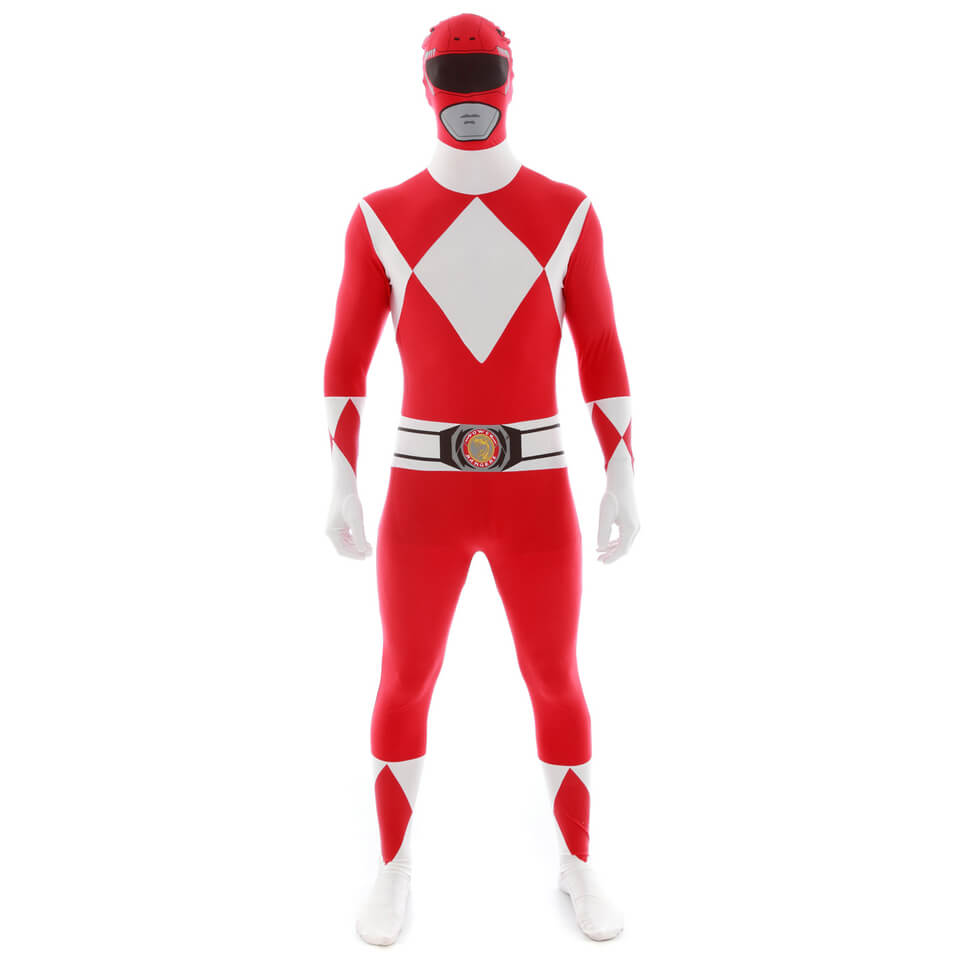 Morphsuit Adults Power Rangers Red Merchandise Zavvi