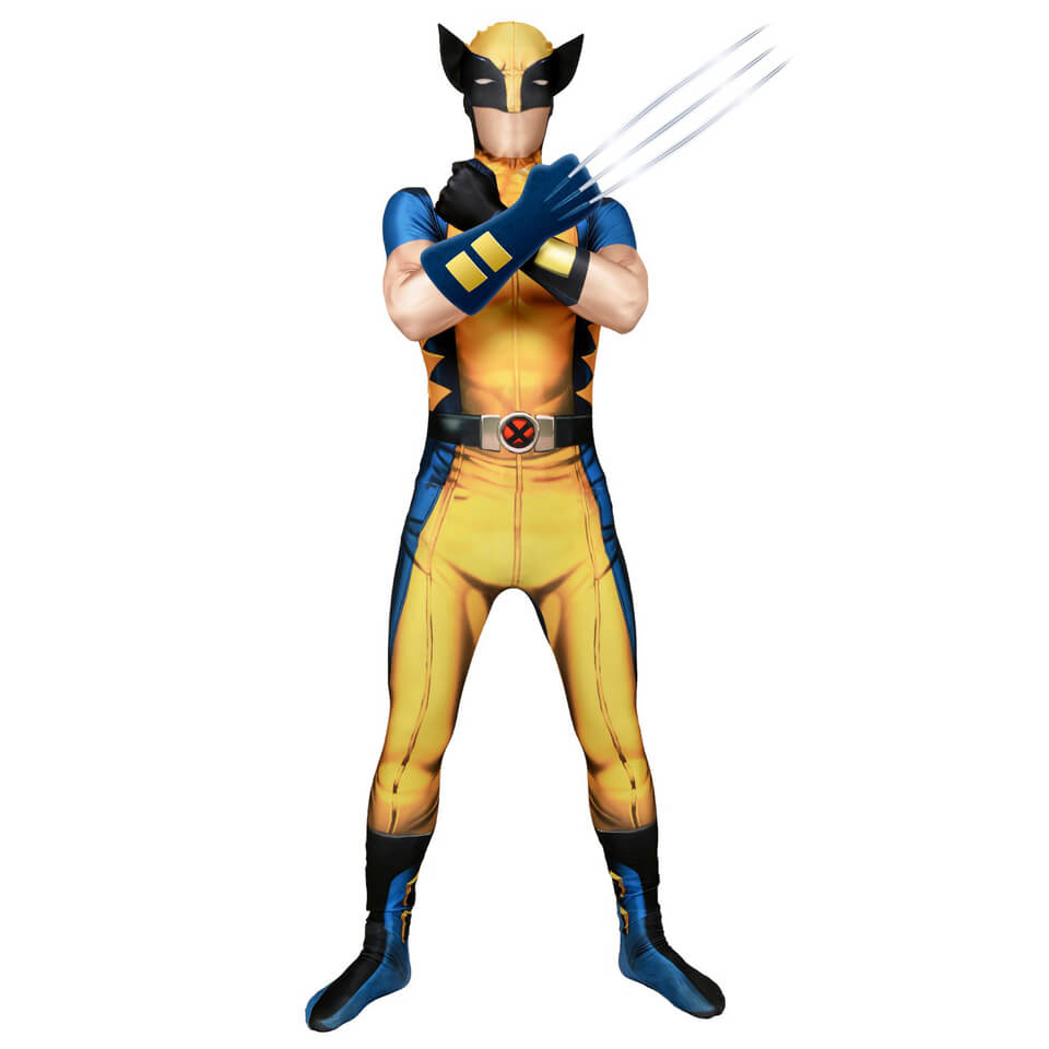 Morphsuit Adulte Deluxe - Marvel : Wolverine