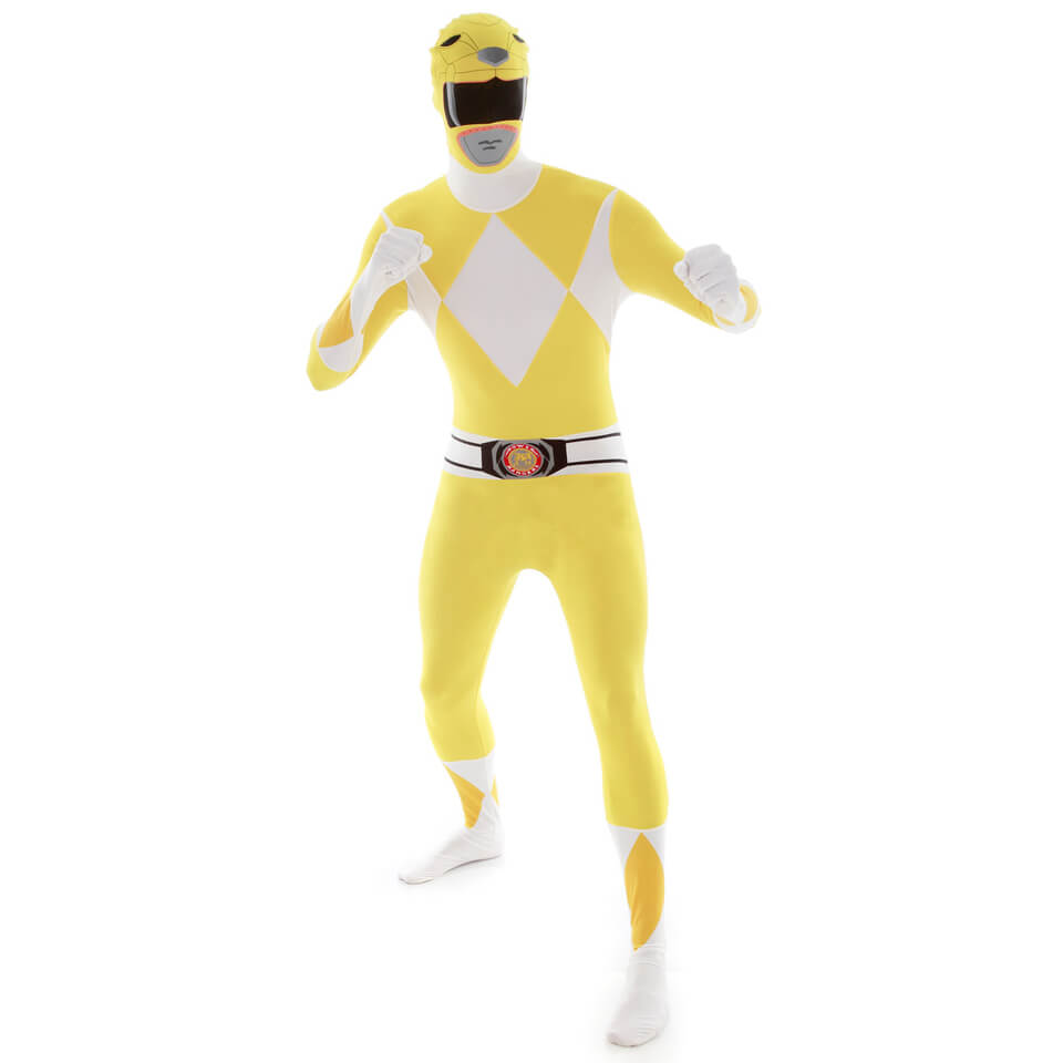 Morphsuit Adulte - Power Rangers Jaune