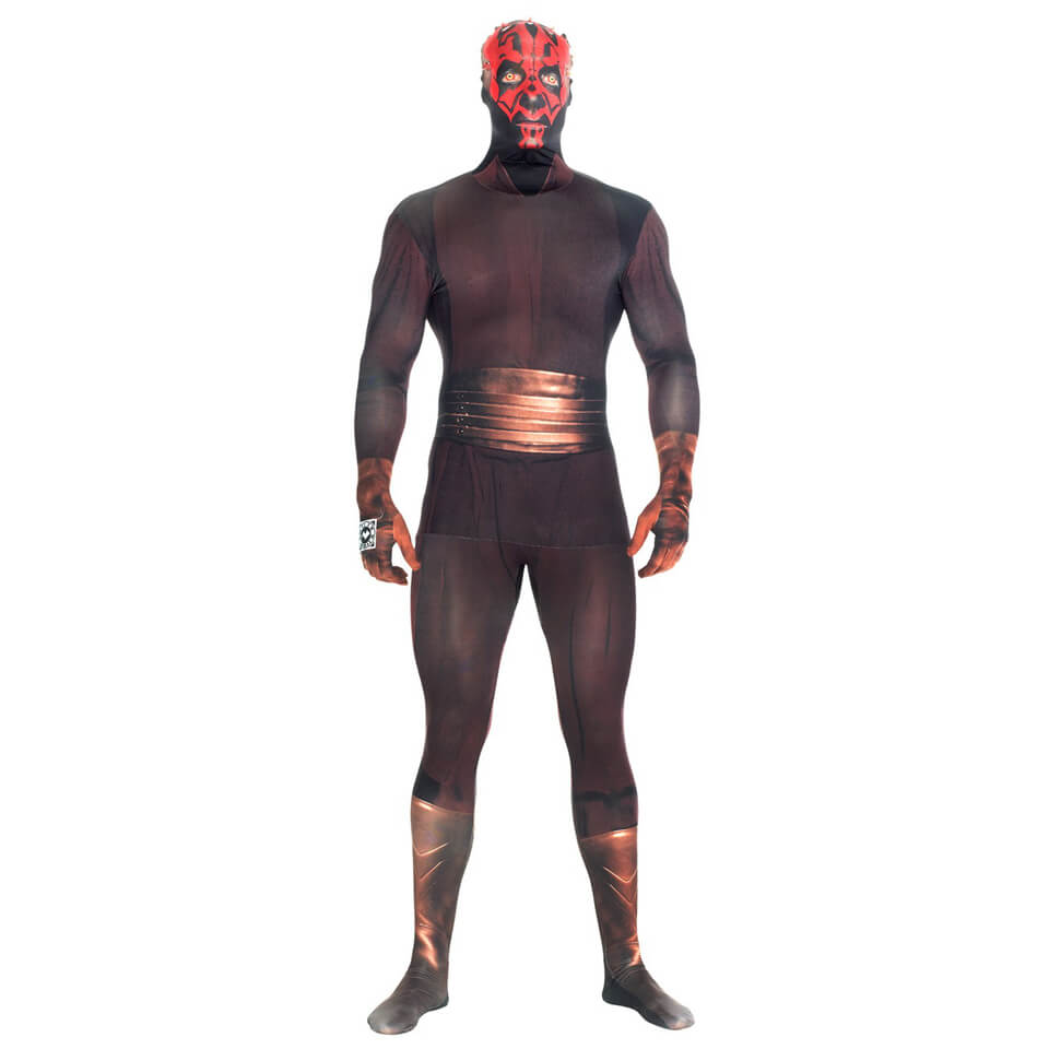 Morphsuit Adulte Star Wars Dark Maul - Noir