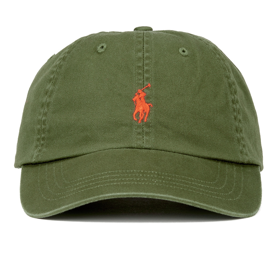 7336f5cf Polo Ralph Lauren Men's Classic Sports Cap - Military Green - Free UK  Delivery over £50