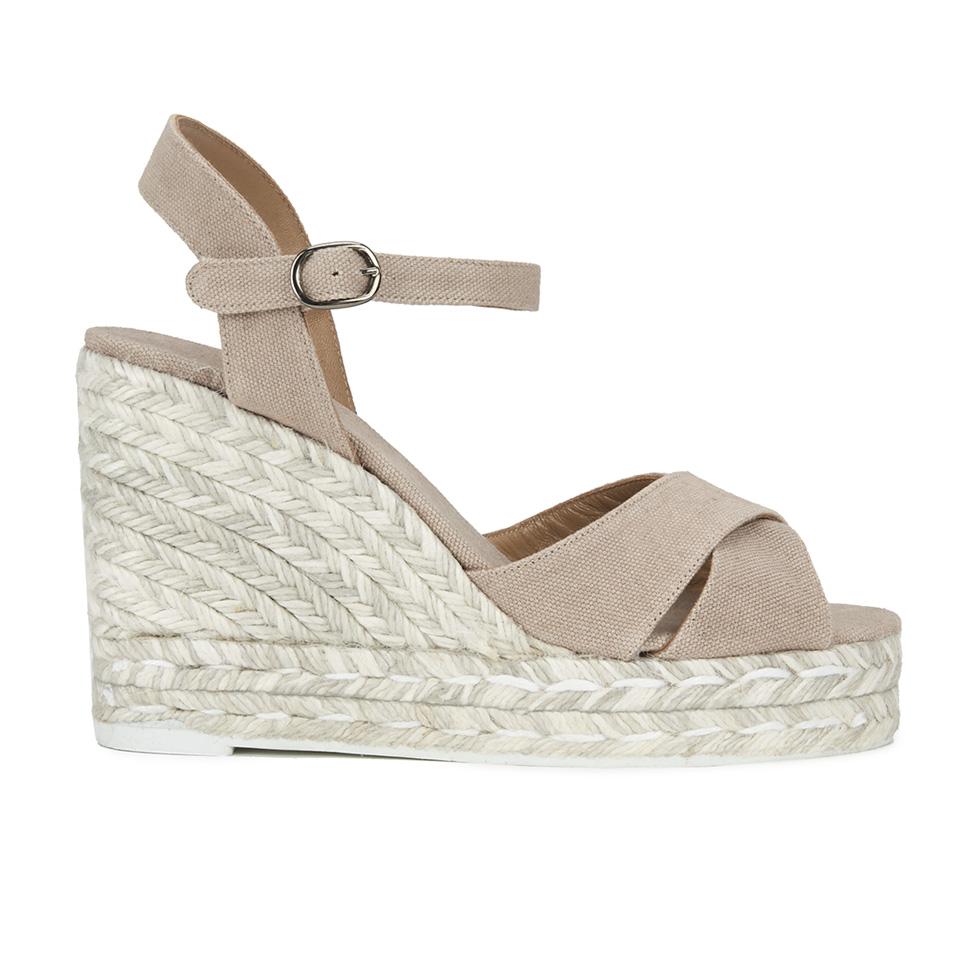 0035fe623b0 Castaner Women s Blaudell Espadrille Wedged Sandals - Beige - Free ...
