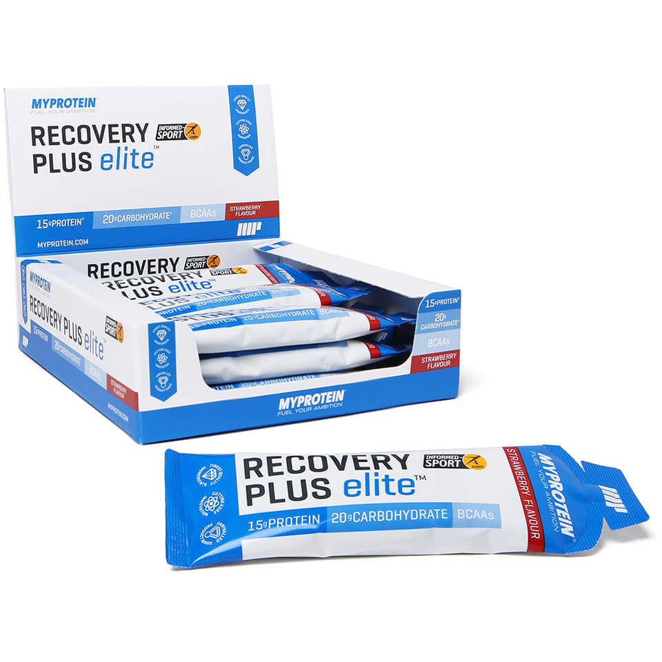 Myprotein Recovery Plus Elite, 70ml x 12, Cherry